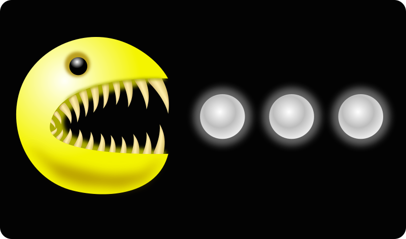 PacThing by opk - the pacman monster eating pills