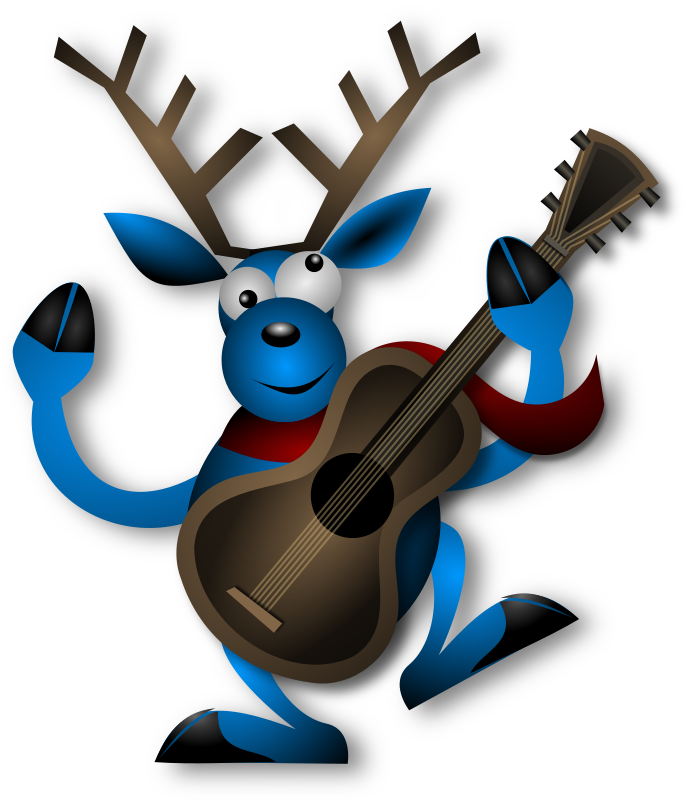 Dancing Reindeer 1 by Merlin2525