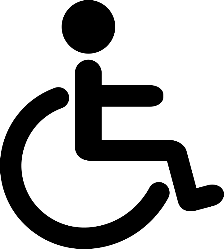 Wheelchair Pictogram by libberry