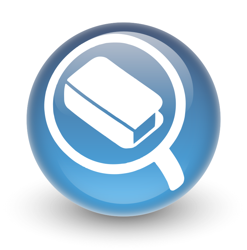 Glossy Search Icon for OPAC by libberry