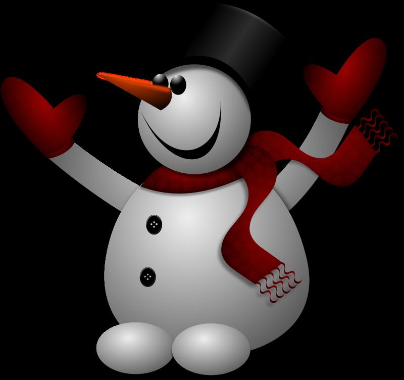 Happy Snowman 2 by Merlin2525 - A Merlin2525 Original Artwork of a ...