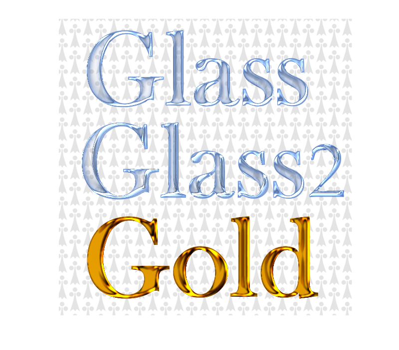 Glass and Gold Filters by Chrisdesign