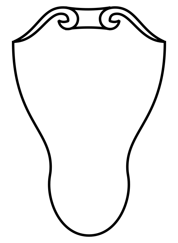 Clipart Italian Shield