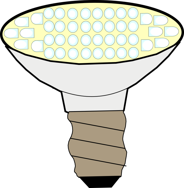 LED lightbulb by boirac