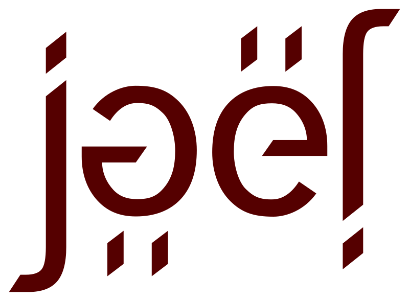 Ambigramme Joël by Valgor - Ambigrama of the first name Joël