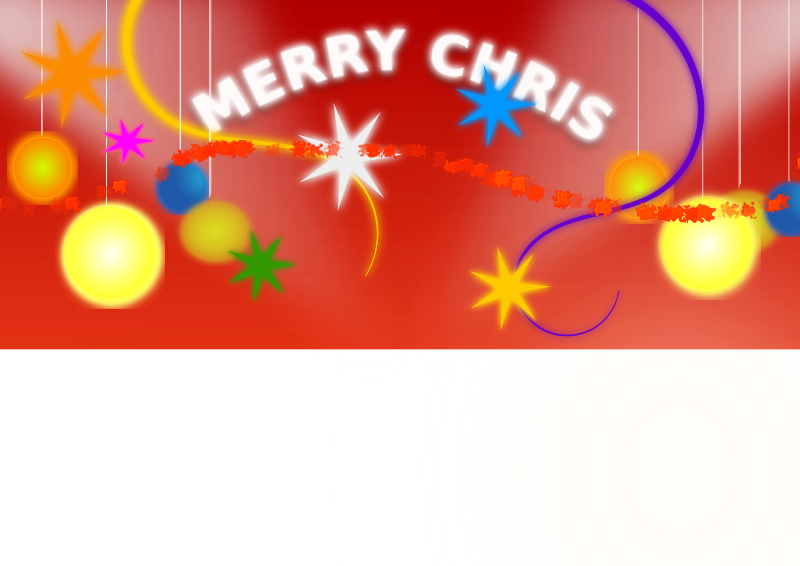 Christmas Banner by ali2013 - A simple Christmas banner