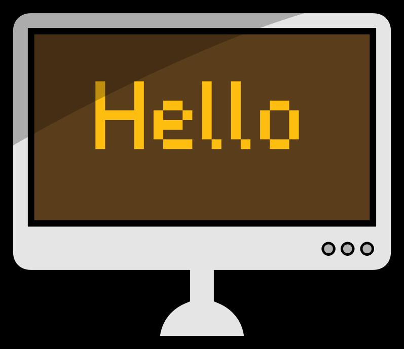 Computer by ytknick - A desktop computer.