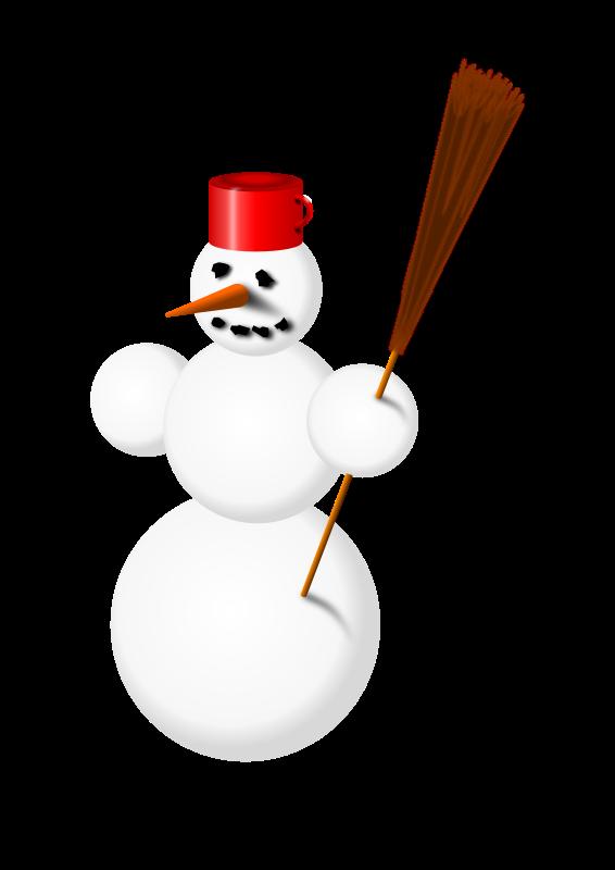 Clipart - snowman 2