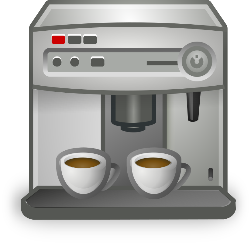 Coffee Maker by b.gaultier - A coffeemaker clipart influenced by Tango project guidelines