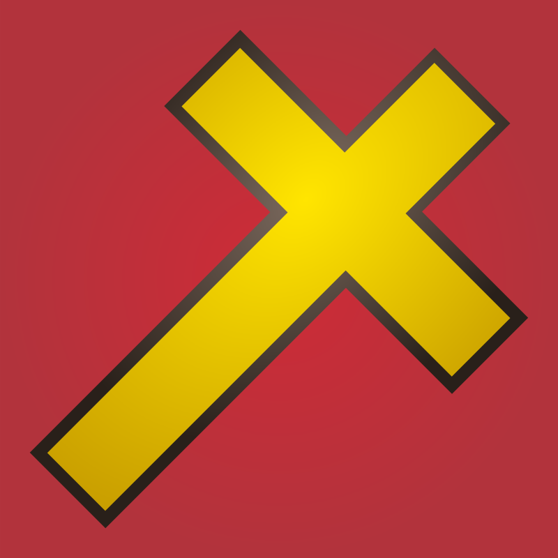 Holy Cross Icon by qubodup
