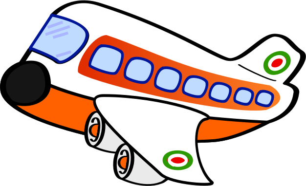 cartoon airplane clipart - photo #38