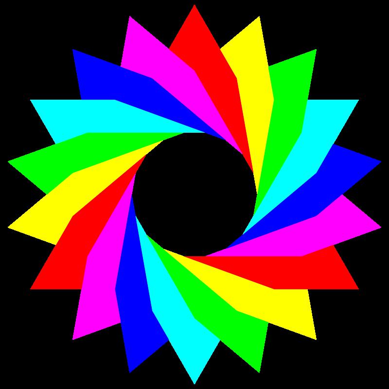 clipart january 13 2013 6 triangles rainbow clip art rainbow tree clip art rainbow image