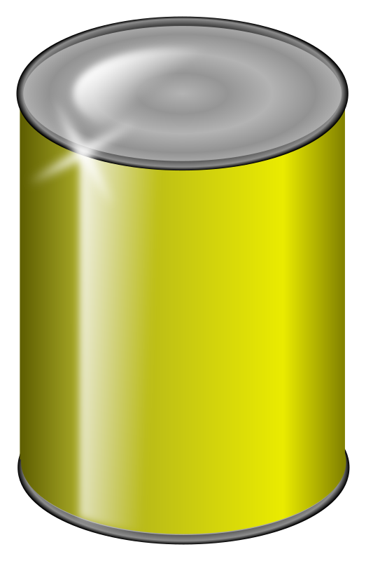yellow can by jarda - a yellow can