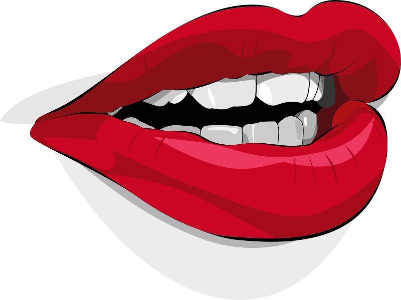 mouth by xeolhades - Boca feita no Inkscape.