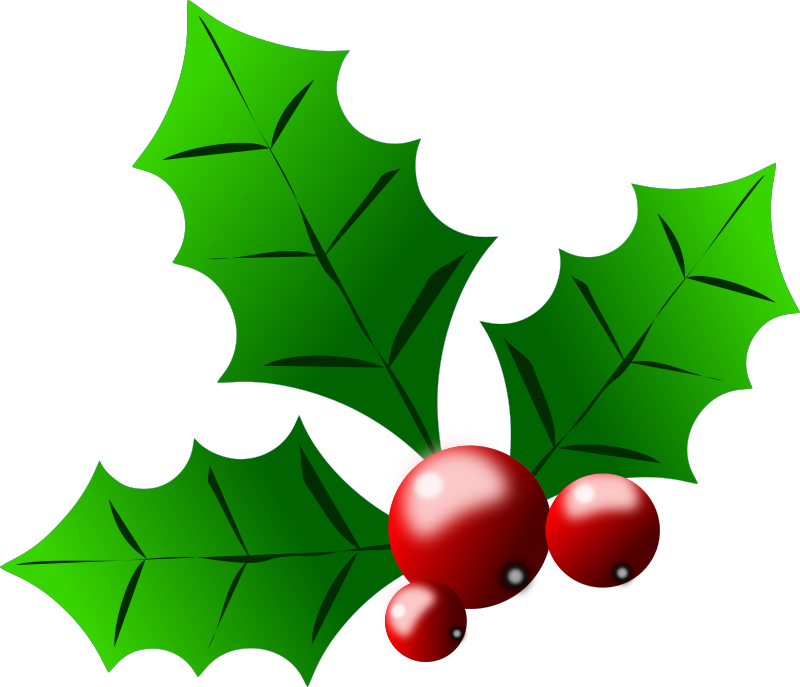 Holly Berries Clip Art Clipart - holly_berries