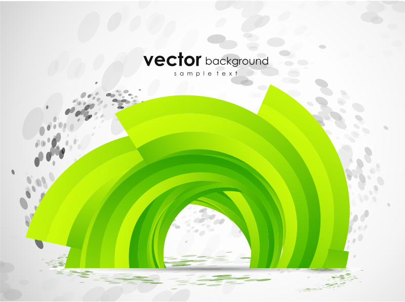 green abstract vector background by vectorbackground - A green abstract vector background