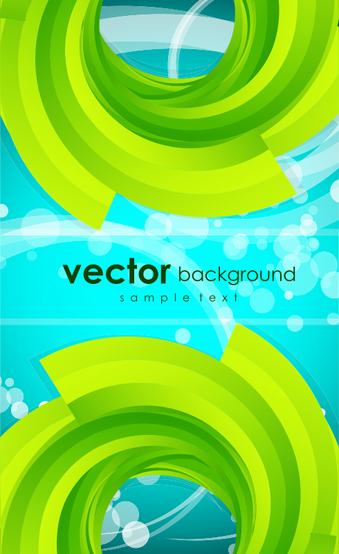 Green Abstract background by vectorbackground - Green Abstract background
