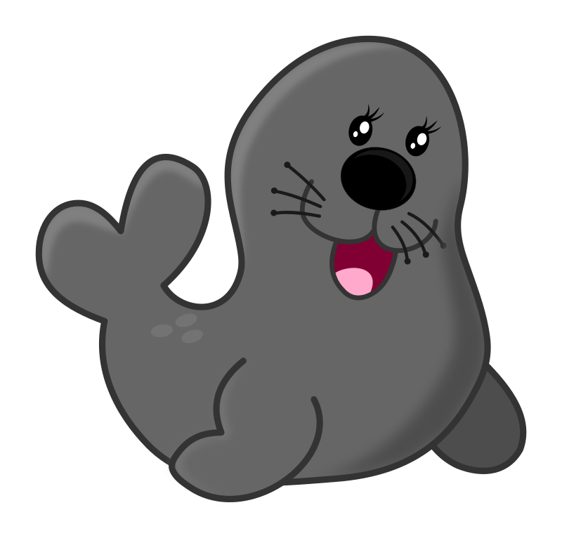 Seal by Maw - a funny cartoon seal.