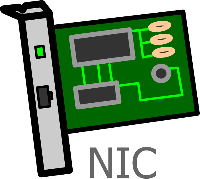 Network Interface Card Labelled by witcombem - Labelled Network Interface Card (NIC)