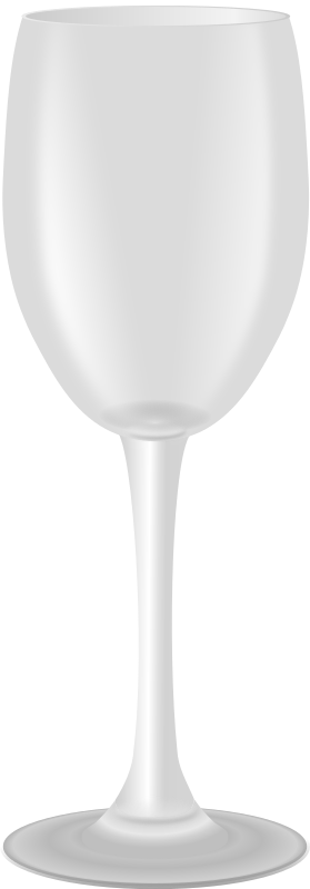 wine glass by jarda - empty wine glass