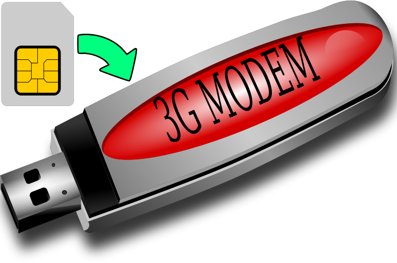 3G Modem and SIM Card by witcombem - 3G MODEM and SIM
