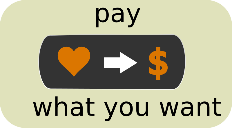 Pay What You Want Button1 by ephemeralwaves