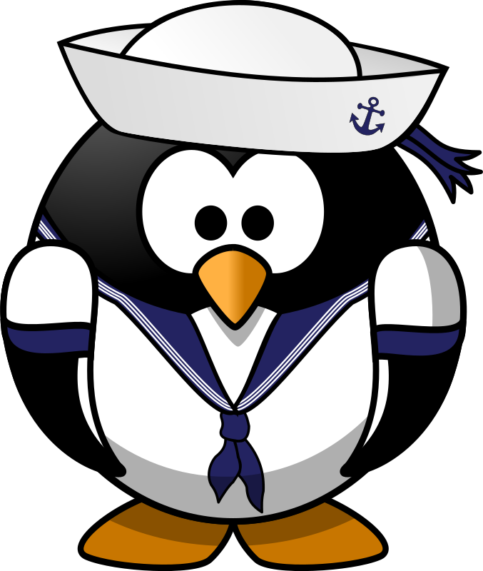 Sailor penguin by Moini