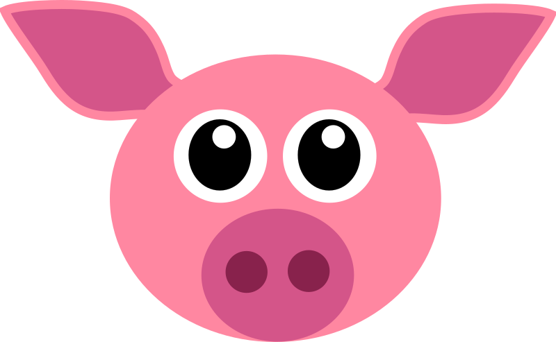 Cochon - pig face by Martouf