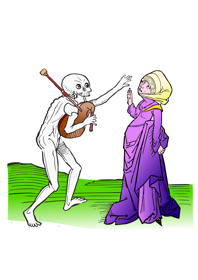 Dance macabre 9 by amilo - Based on illustrations from 'Heidelberger Totentanz',  https://play.google.com/store/apps/details?id=com.milo.dancemacabre
