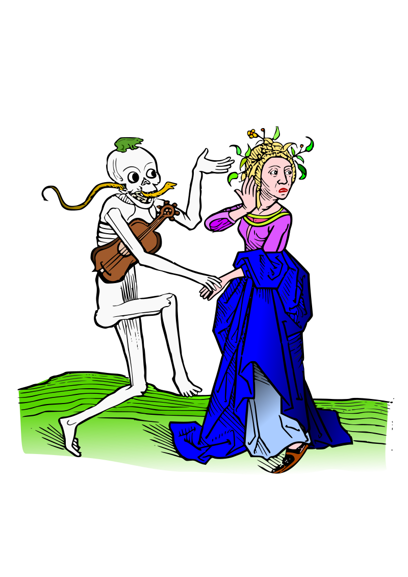 Dance macabre 10 by amilo - Based on illustrations from 'Heidelberger Totentanz',  https://play.google.com/store/apps/details?id=com.milo.dancemacabre