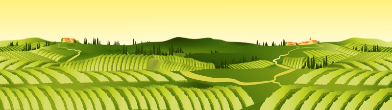 Landscape by gnokii - a agriculture landscape.