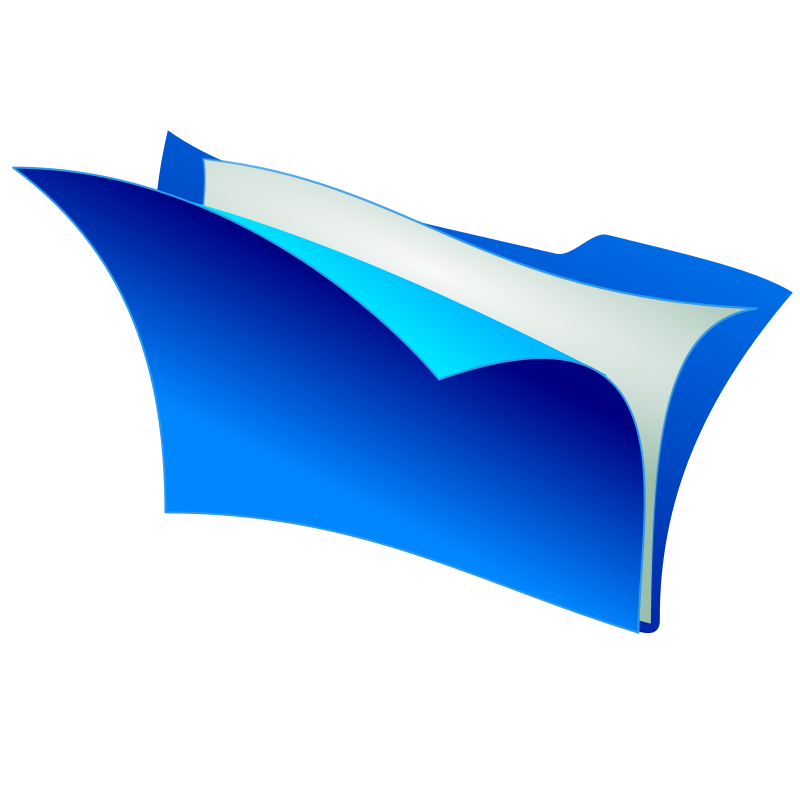 folder by tomas_arad - blue folder icon