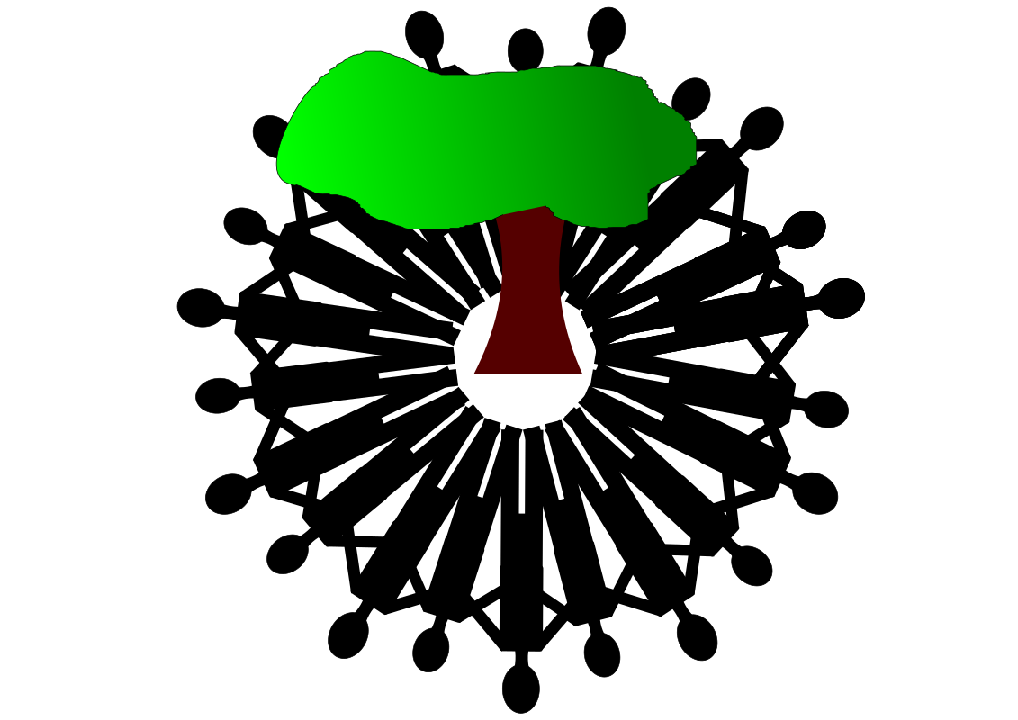 Clipart - save trees