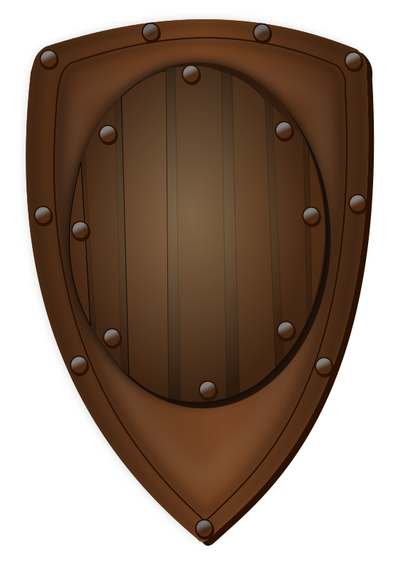 shield by hatalar205 - A simple shield clipart