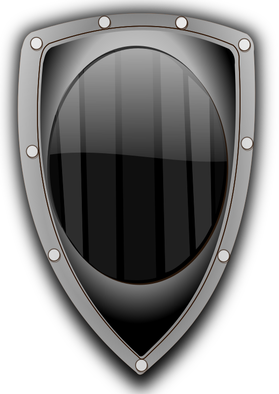 shield metal by hatalar205 - A simple shield clipart.