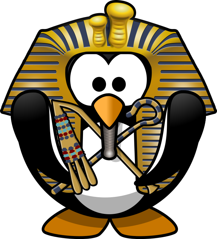 Tut-Ankh-Penguin by Moini - Funky Tut - they said you do the penguin ;-) (see song 'King Tut' by Steve Martin)