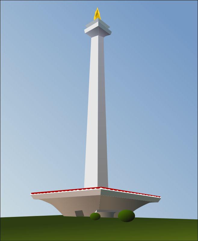 Indonesia National Monument (Monas) by takien