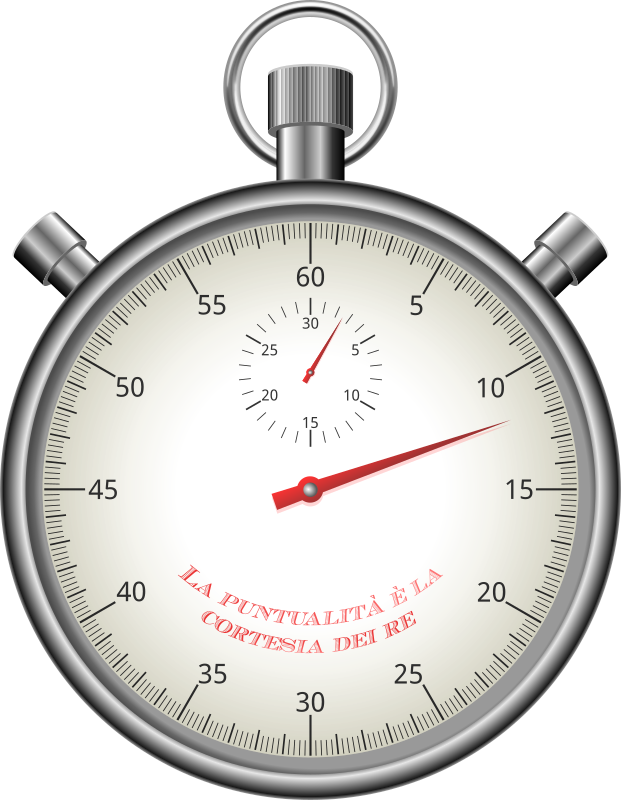 Stopwatch by conte magnus - A vintage stopwatch. From a tutorial by VectorTuts+