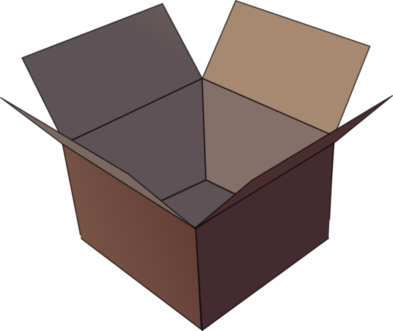 box by andinuryadin - a open box