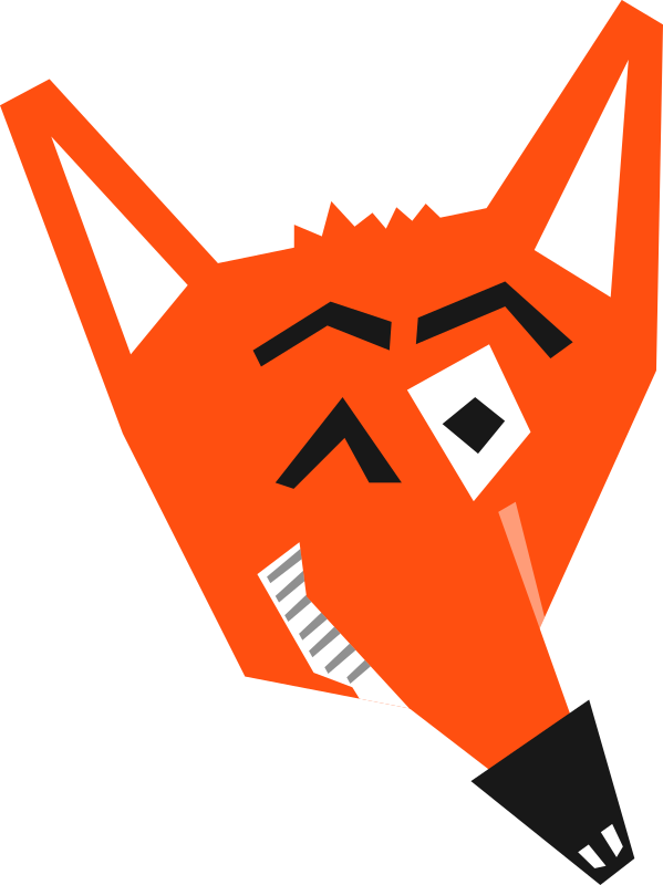 Smart Fox Face by qubodup - A fox making you a deal you definitely are going to regret...