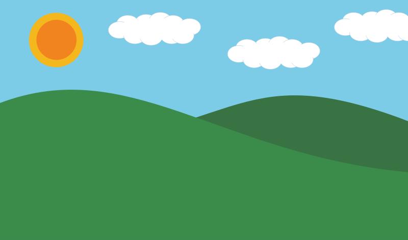 Landscape by jsstrn - A simple landscape backdrop that can be used for ...: openclipart.org/detail/175353/landscape-by-jsstrn-175353