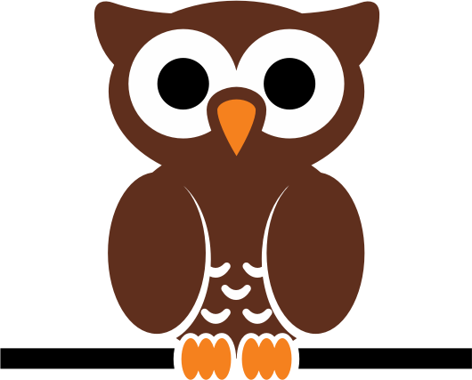 owl on wire by cdsgraphic - A sitting cartoon owl