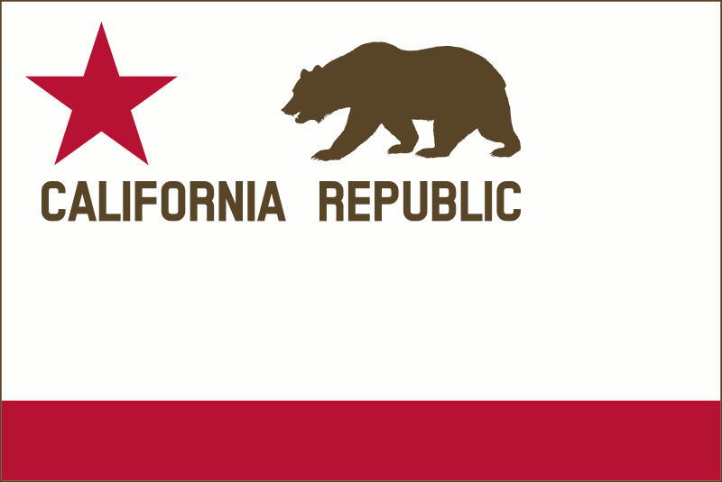 bear flag revolt modernized border solid by devincook