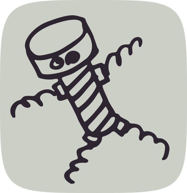 screw man by global quiz - A man who looks like a screw or a prisoner