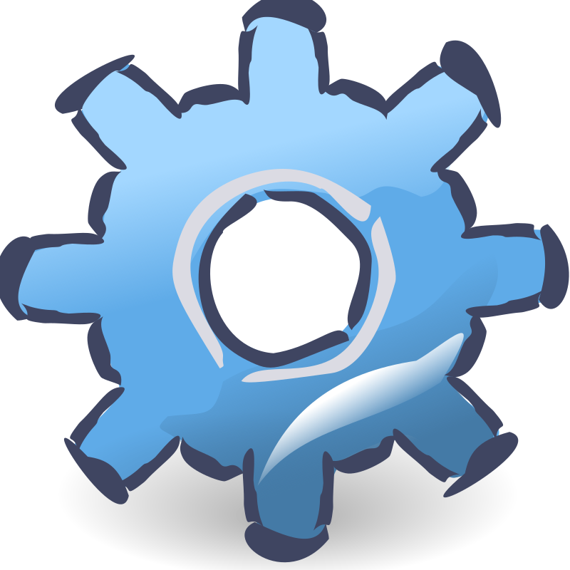 Zazou Gear Design by ralfieroo2 - A Gear icon in the spirit of the Zazou theme
