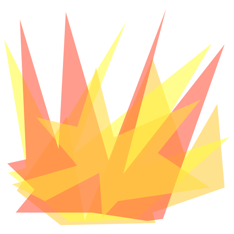 Simple Cartoon Explosion by qubodup - A cartoon style of explosion