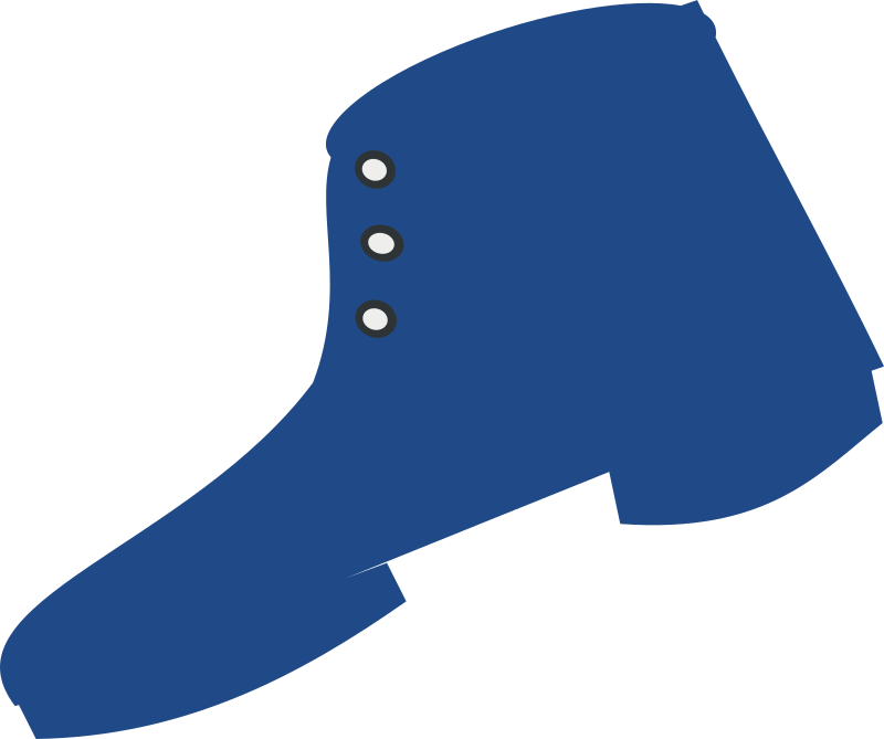 godasse by chatard - A blue boot type of shoe