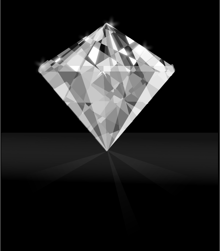 diamond by Darth_Gimp - A diamond on black background.