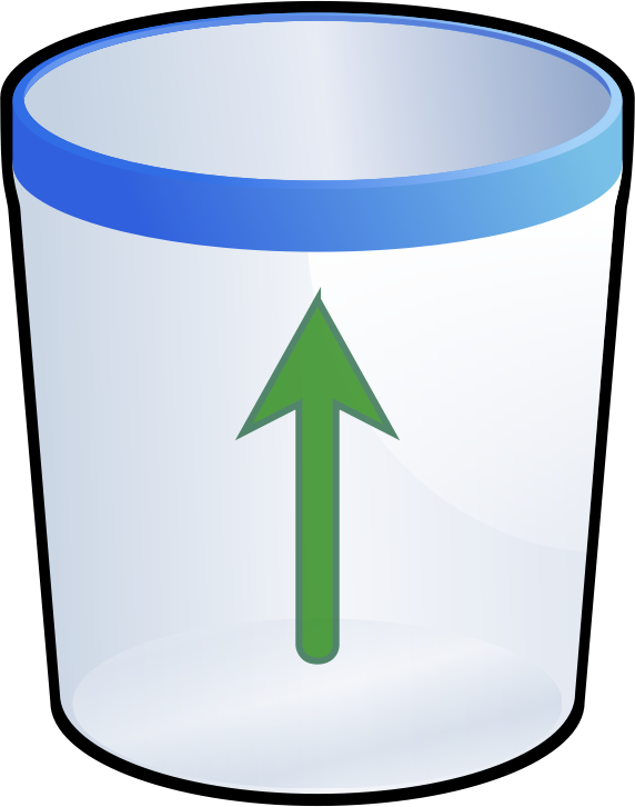 DooFi_a0de84f8 by DooFi - Recycling icon or a trash can.