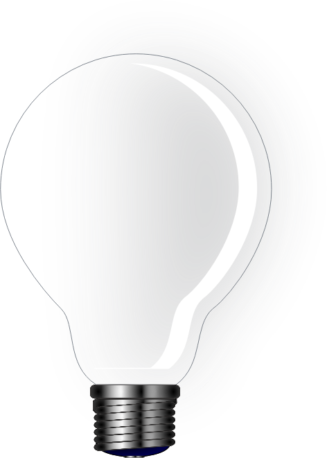 basic light bulb by drunken_duck - Light bulb without background.